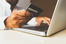 paiement CB sur ordinateur